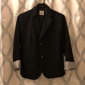 Gap women's black The Academy Blazer EUC